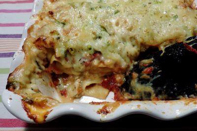 Lasagne met gebraden kip en twee verrukkelijke sauzen