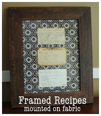 Bright Green Door Blog: Grandma Caroline's Recipes Displayed