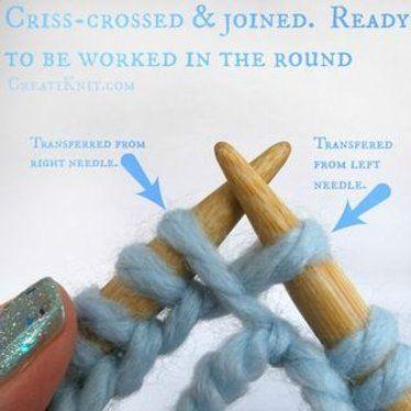 Aprenda como juntar-se na volta com tricô circular!