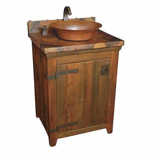 Native trails old world 24 bathroom vanity crafted from for 24 reclaimed wood vanity