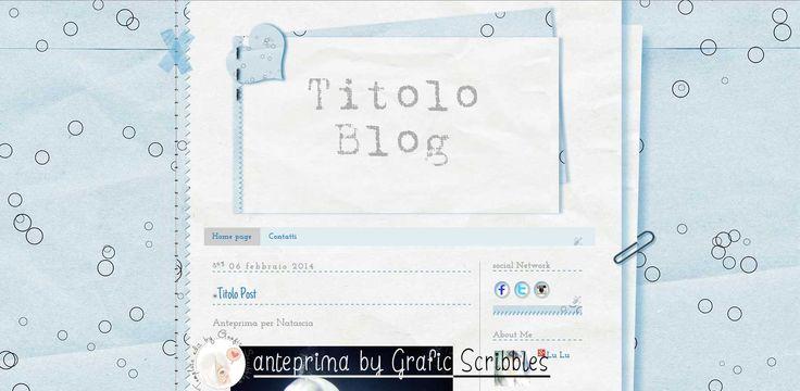 Tema esclusivo per Blogger nr. 14-2014 - Stile Blocco per gli appunti http://sfondiuniciperblogger.blogspot.it/2014/10/tema-esclusivo-per-blogger-nr-14-2014.html #template #background #sfondi #temi #