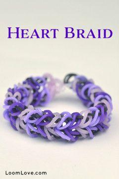 How to Make a Heart Braid