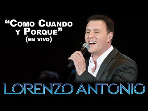 El canal oficial de Lorenzo Antonio en YouTube. The official Lorenzo Antonio YouTube channel.