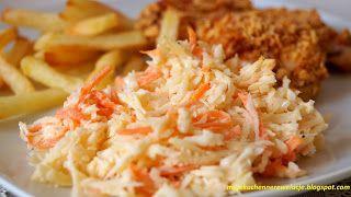 Moje                                                                       Kuchenne Rewelacje  : Coleslaw - pyszna surówka - lepsza niż w KFC :)