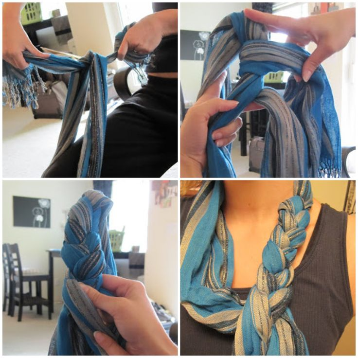 how to tie a wrap dress with no holes