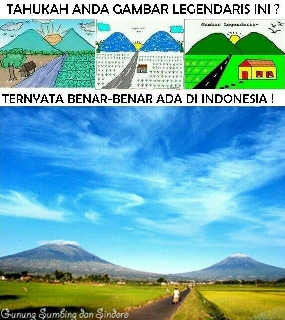 Gunung Sumbing dan Sindoro