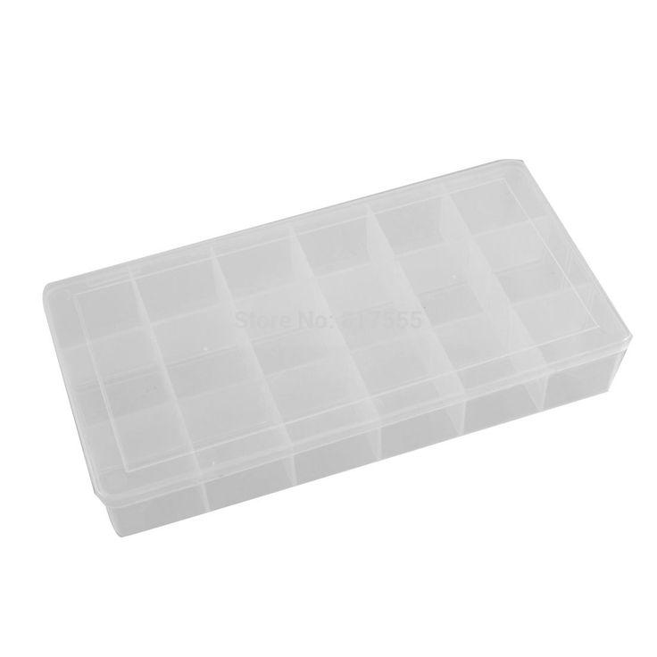 Купить товарПрозрачный пластиковые компоненты ящик для хранения 18 отсеков организатор в категории Коробки для инструментовна AliExpress.     Спецификация:    Название продукта  Компоненты случае    Материал  Пластик    Цвет  Ясно    Количество отсеков 18
