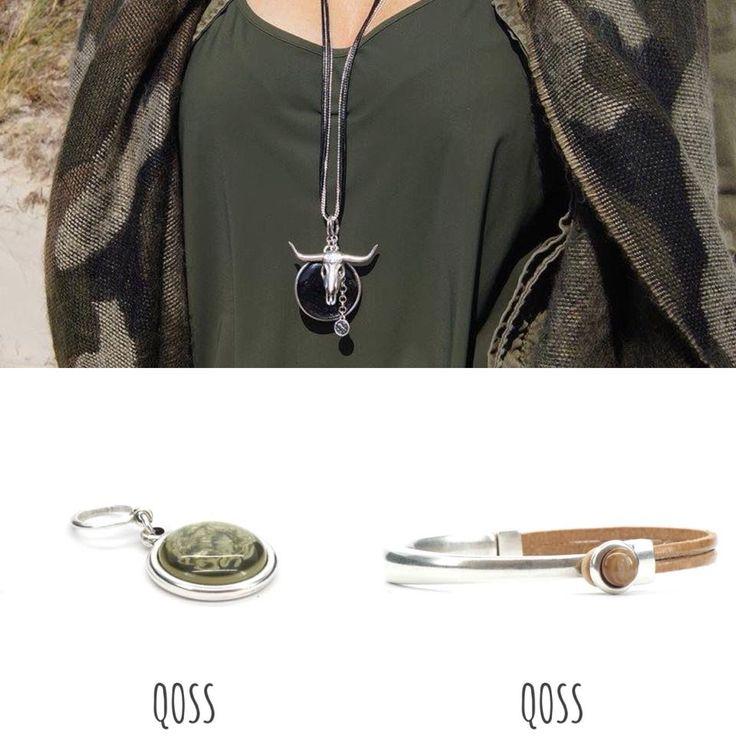 Superblij dat de kettinghangers van Qoss nu ook online staan. Maak en combineer je eigen ketting. Ook de armbanden en ringen van Qoss in een combinatie van edelstaal en leer zijn gaaf. Online en in onze winkel verkrijgbaar.