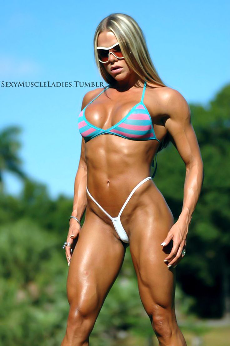 Muscled sexy ladies — 4