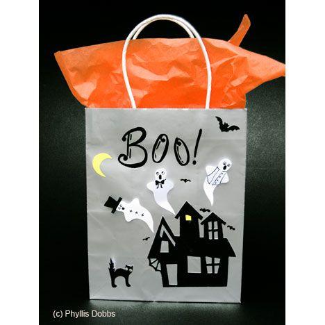 Halloween Gift Bag or Trick-or-treat Bag