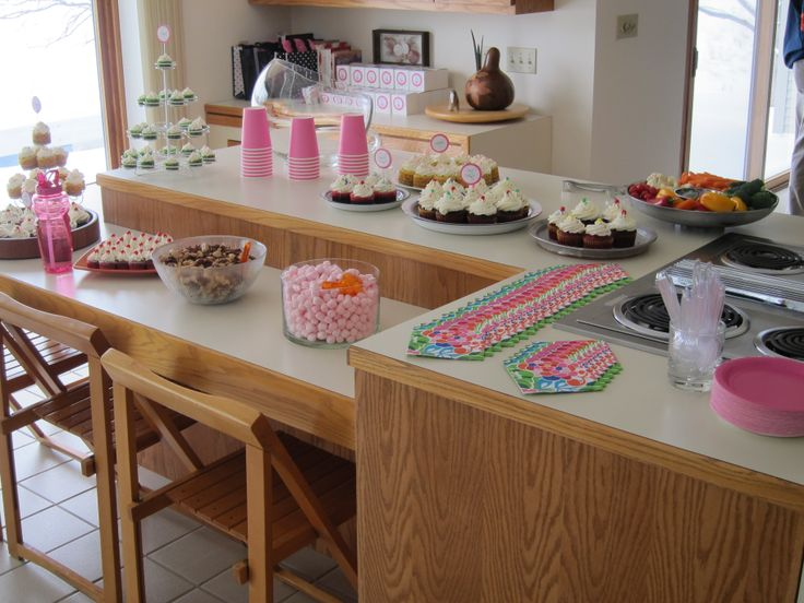 cupcake theme with more than 100 cupcakes Image only