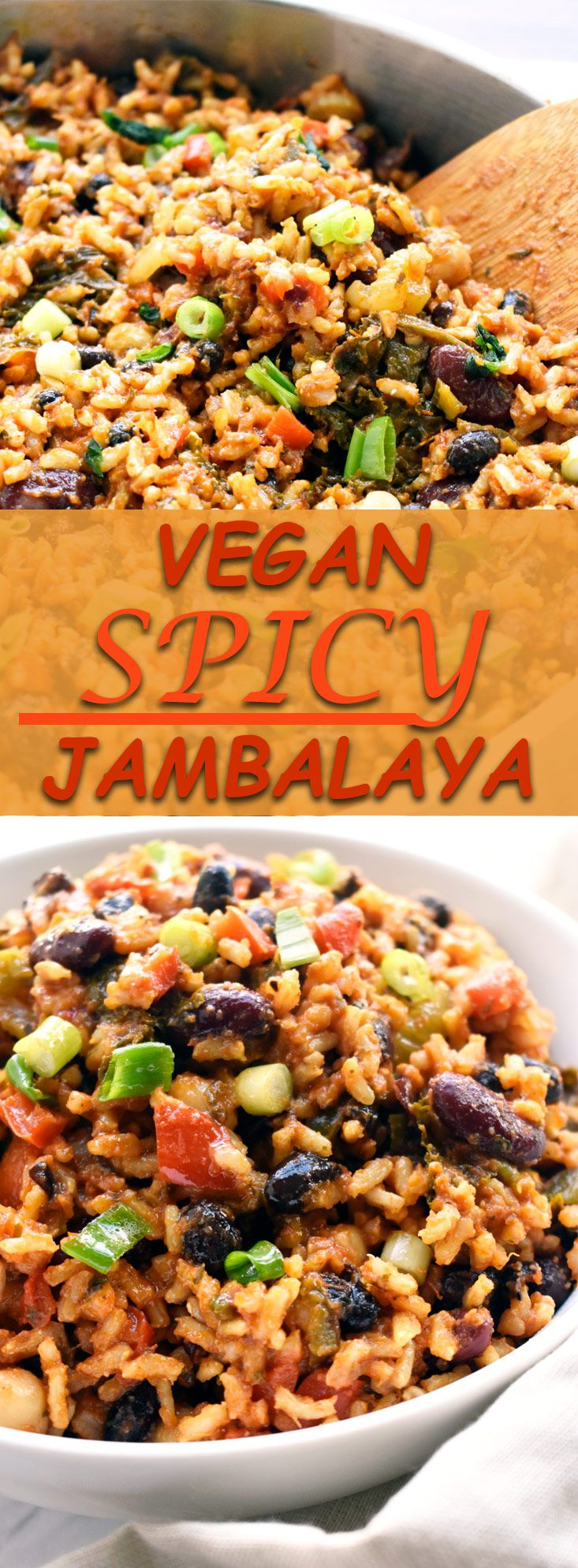 Vegan Spicy Jambalaya