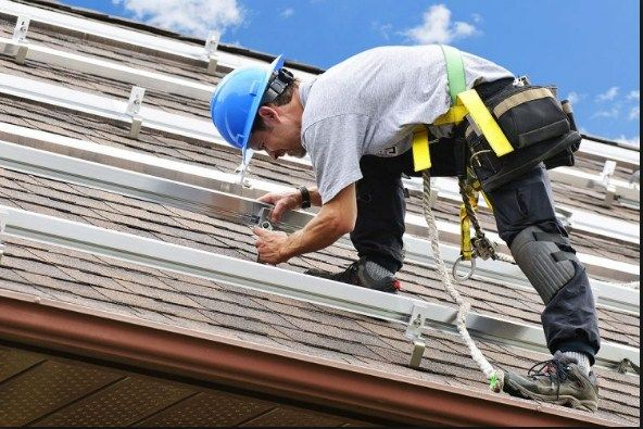 For commercial and residential roofing services contact The Roofers.