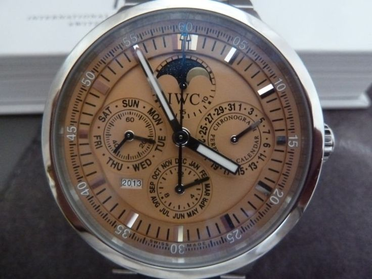 IWC GST Perpetual Calendar Wristwatch - International Watch Company