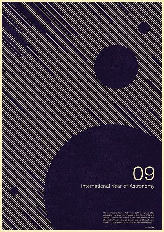 Intl. Year Of Astronomy #5 by Simon C Page