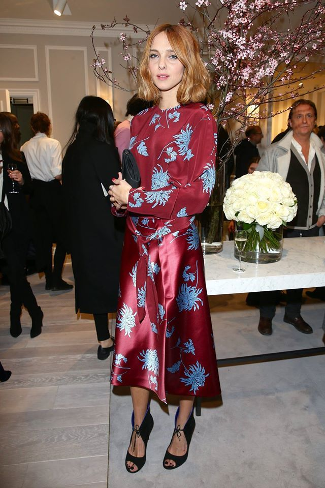 Blumarine Boutique Opening Party in Paris #pfw • Candela Novembre at the…