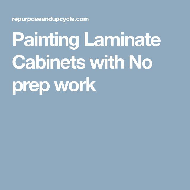 Updating Laminate Bathroom Cabinets: Best 25+ Painting Laminate Cabinets Ideas On Pinterest