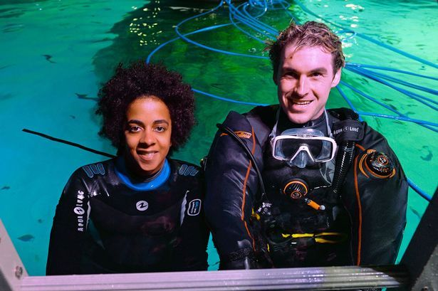 Sea TREK in Pictures: Diving with sharks in Manchester shopping centre