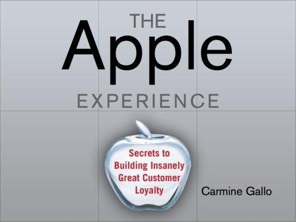 The Secrets Of The Apple Store's Success 애플스토어의 성공비밀을 분석한 슬라이드