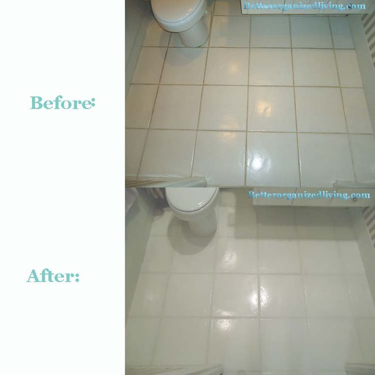 How to clean and seal grout clean with greased lightning