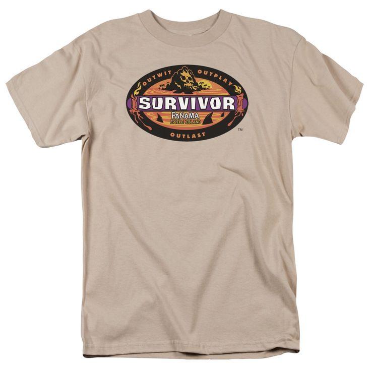 Survivor/Panama Short Sleeve Adult T-Shirt 18/1 in Sand
