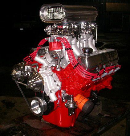 High performance crate engines - small blocks, big blocks, stroker ...