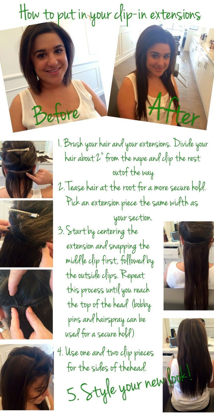 58 best weave me alone images on pinterest hairstyles clip in how to put in your clip in extensions diy iheartblown pmusecretfo Images