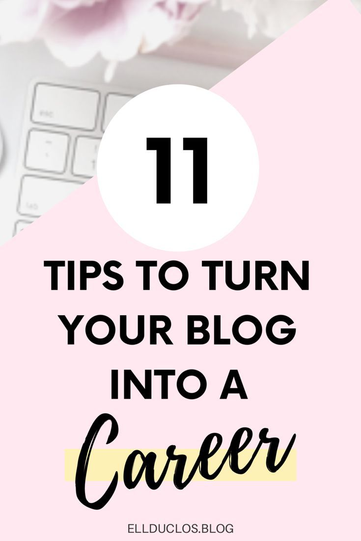 How to Become a Full Time Blogger – Turn your blog into a career