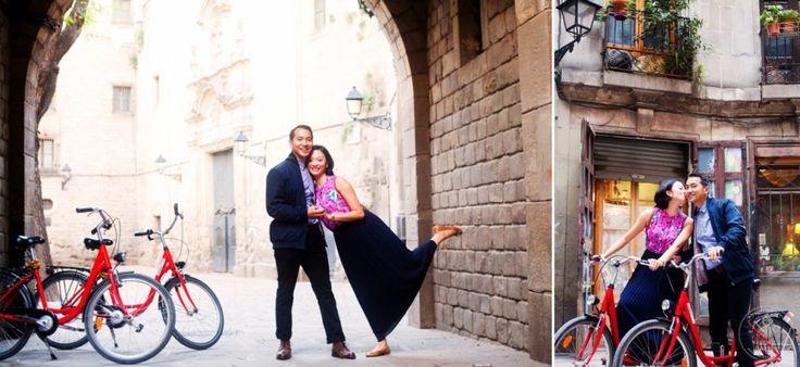 Blog | Barcelona Wedding Photographer For more tips, look at the blog: http://veronicahansenweddings.com/barcelona-wedding-photographer-what-to-wear-for-pre-wedding-portraits/