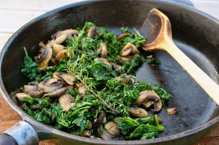 to make paleo recipes kale mushrooms sautéed kale immune paleo lemon ...