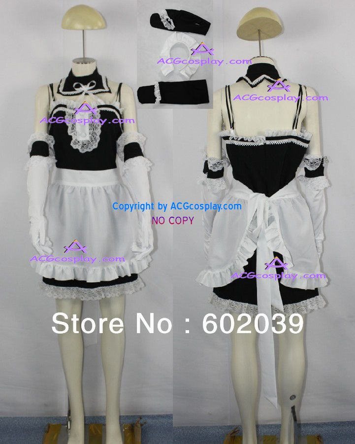 >> Click to Buy << He is my master Anna Kurauchi Maid cosplay costumes ACGcosplay include hair ornament and stockings #Affiliate