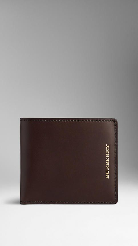 Sartorial Leather Folding Wallet | Burberry