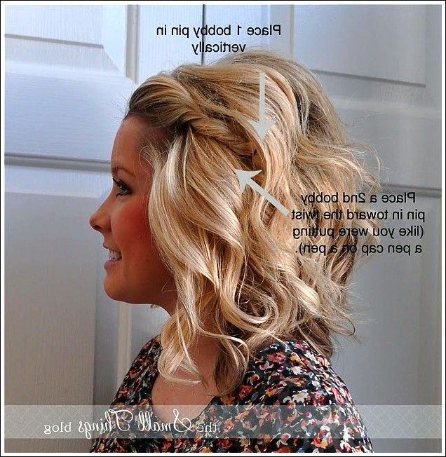 5 Minuten Frisuren Mittellanges Haar Hair Beauty Hair Hair Styles
