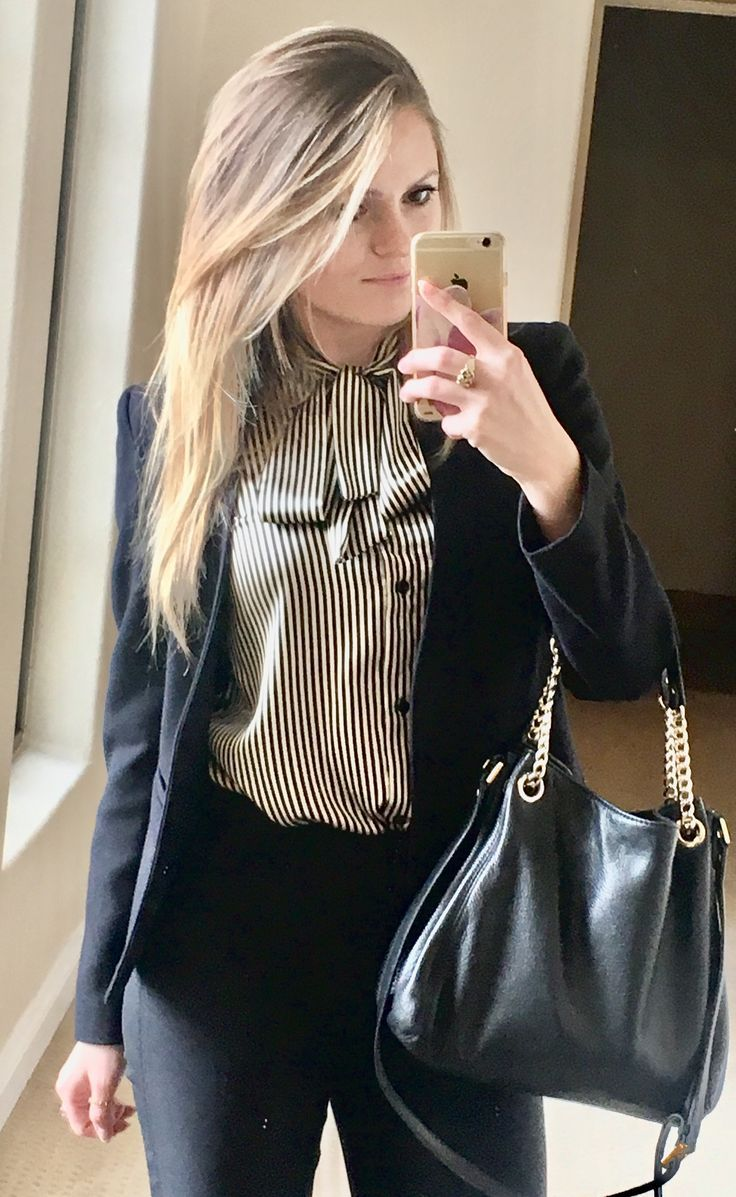 Gold and black stripe sleeveless silk top with a long sleeve jacket from Top Sho…