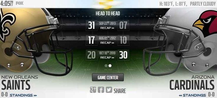 The New Orleans Saints will play host to the Arizona Cardinals Live Stream Football Game Online on Sunday 12th Sep, in Week 1 of the NFL 2015 Regular season. Today Football game Streaming TV should...