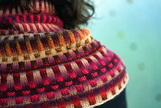 """Inspira Cowl by graphics via Ravelry, free download. """"Materials List: You will need the heart of a lion, but if you can knit, this you already have."""""""