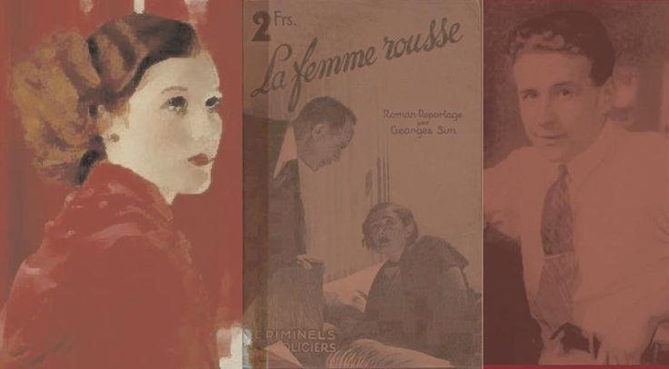 """SIMENON SIMENON. LA FEMME ROUSSE SE TROUVE-T-ELLE A L'ECLUSE N°1? L'abandon provisoire de Maigret par Simenon, et la parution simultanée d'un """"proto-Maigret""""   http://www.simenon-simenon.com/2016/05/simenon-simenon-la-femme-rousse-se.html"""