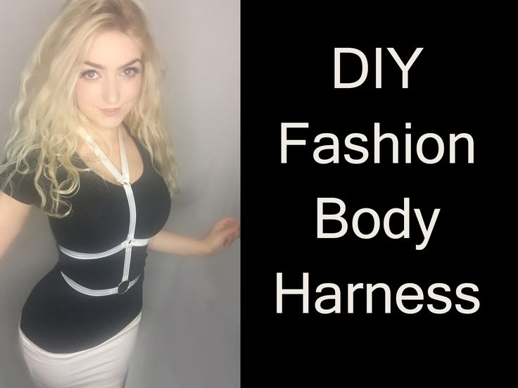 DIY Fashion Body Harness