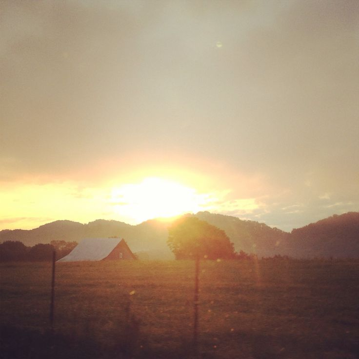 Beautiful Tennessee sunrise!