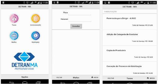 Detran-MA – Apps para Android no Google Play  O aplicativo desenvolvido pela Coordenação de Informática do Detran-Ma, traz funcionalidades do site para as mãos dos usuários que poderão por meio do smartphone realizar a consulta de Licenciamento...