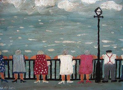 Gary Bunt. English Village Life ~ Blog of an Art Admirer