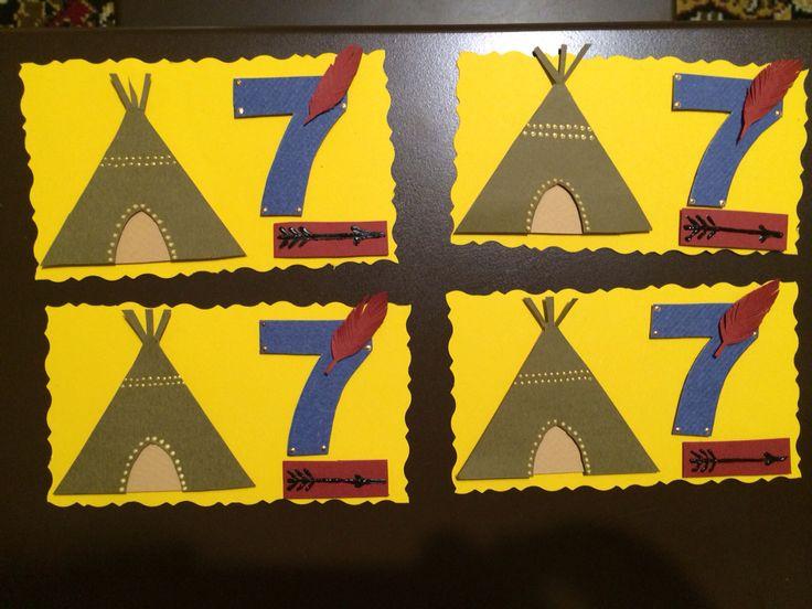 Приглашения на индейскую вечеринку