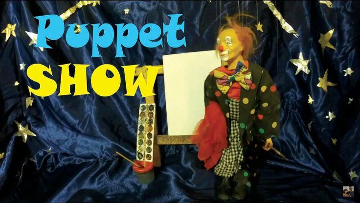 """Puppet SHOW """"The clown artist"""""""