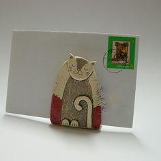 letter holder - could also be a napkin holder