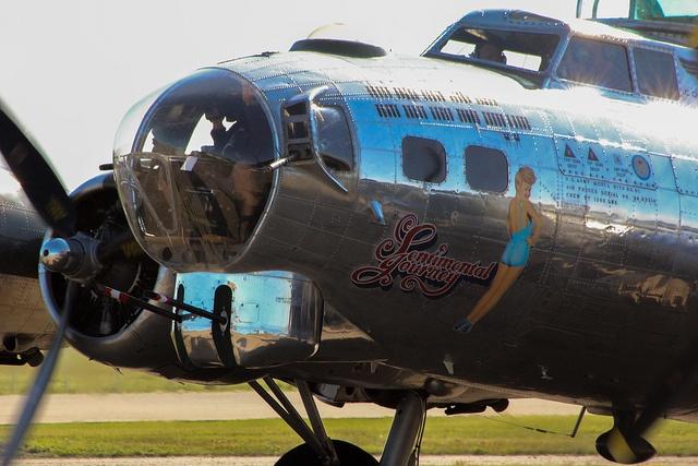 B-17 Sentimental Journey in Edmonton