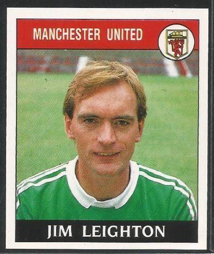 Panini 89 Football 1989 #126 - MANCHESTER UNITED - JIM LEIGHTON