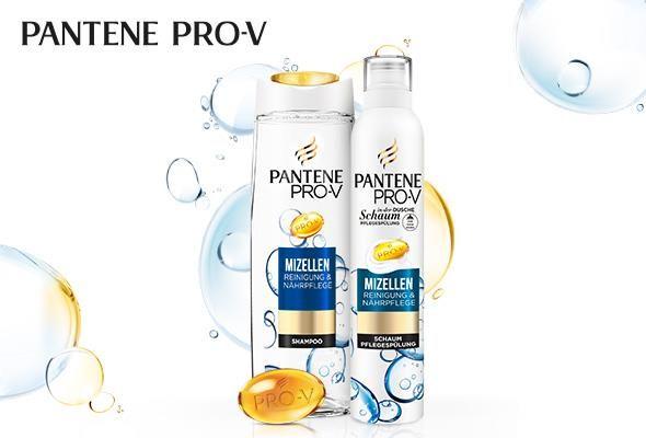 BEENDET | Produkttest: Pantene Pro-V Mizellen NEU