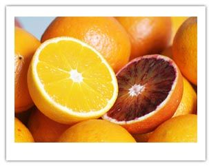 Oranges are actually a type of berry (hesperidium), that rival lemons for their concentration of vitamin C. The peel of an orange has increased vitamin C and fiber, however, high concentrations of pesticides have been found in orange peels.
