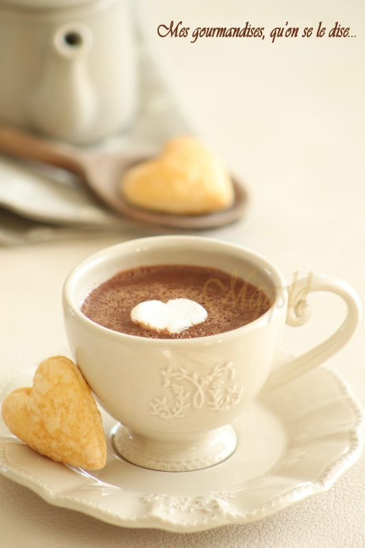 Chocolat chaud à l'ancienne.