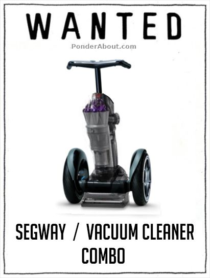 HAHA! I bet I could get my family to vacuum if I had one of these! Why has this not been invented yet?!  I want one.
